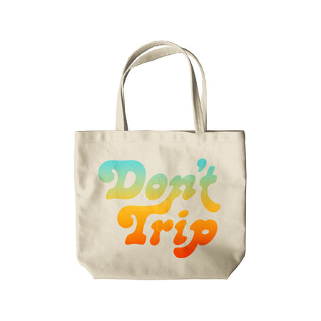 Free and Easy Don't Trip Canvas Tote