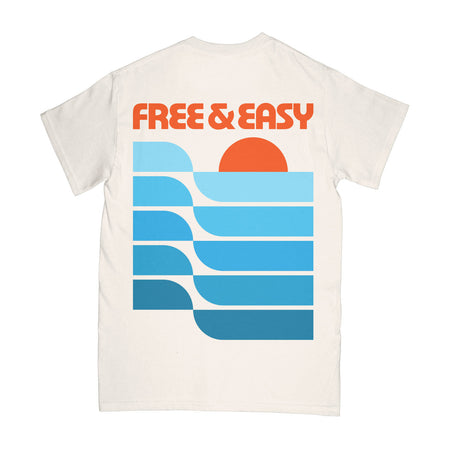Free and Easy Waves Pocket T-Shirt
