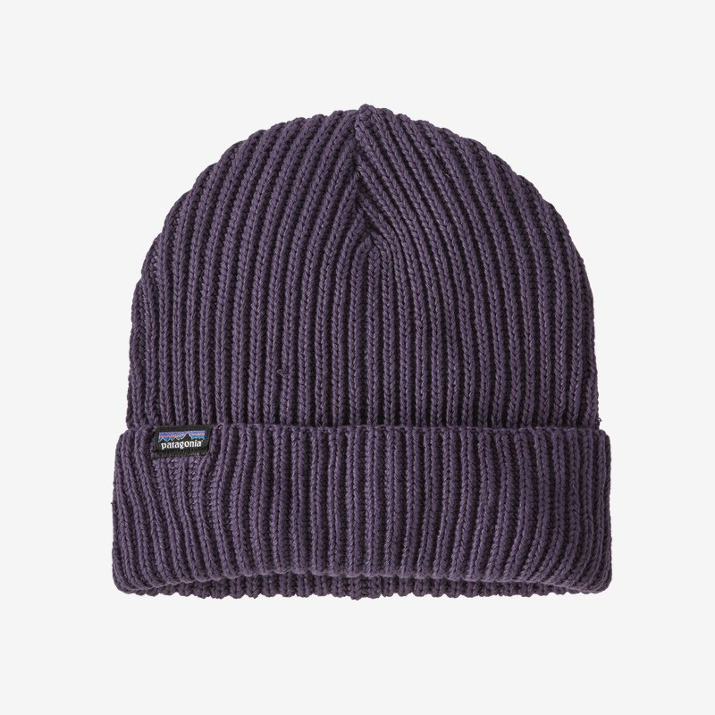 Patagonia Piton Purple Fishermans Rolled Beanie