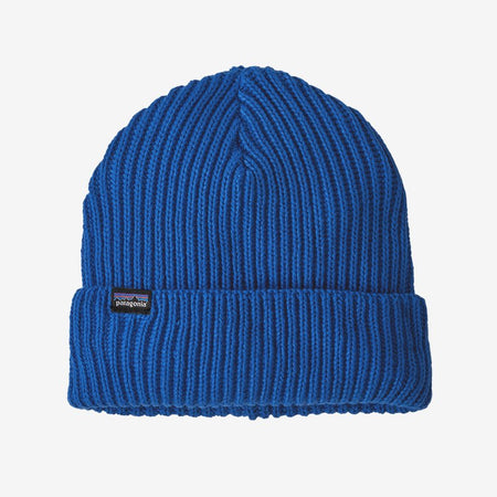 Patagonia Alpine Blue Fishermans Rolled Beanie