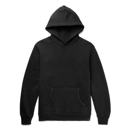 Hiro Clark Black Hooded Sweatshirt