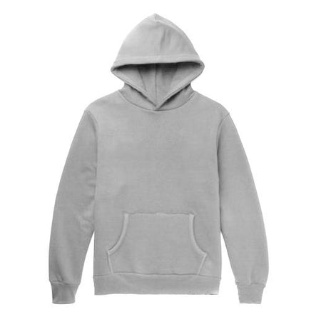 Hiro Clark Grey Pullover Hooded Sweatshirt
