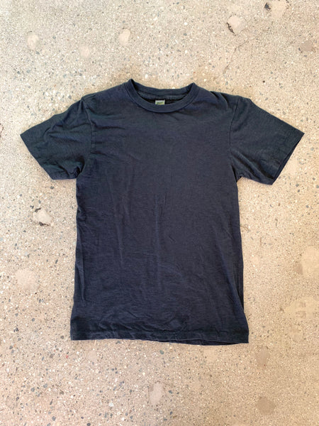 Velva Sheen Black Rolled T Shirt