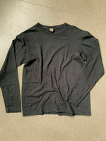 Velva Sheen Black Regular Long Sleeve Tee