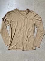 Velva Sheen Olive Regular Long Sleeve Tee
