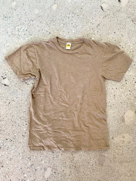 Velva Sheen Olive Green Rolled T Shirt