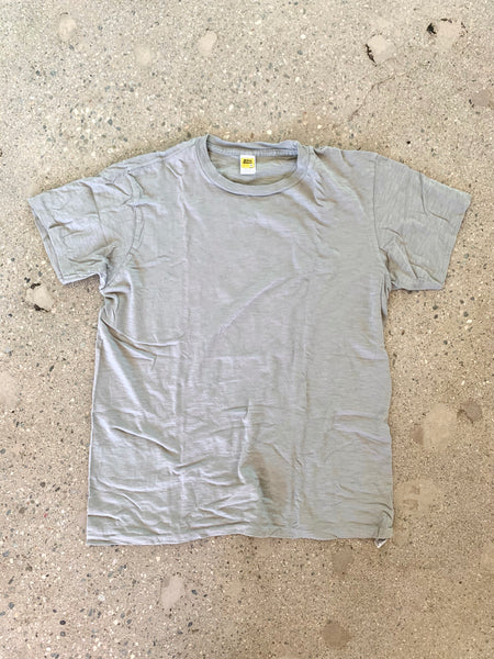 Velva Sheen Grey Rolled T Shirt