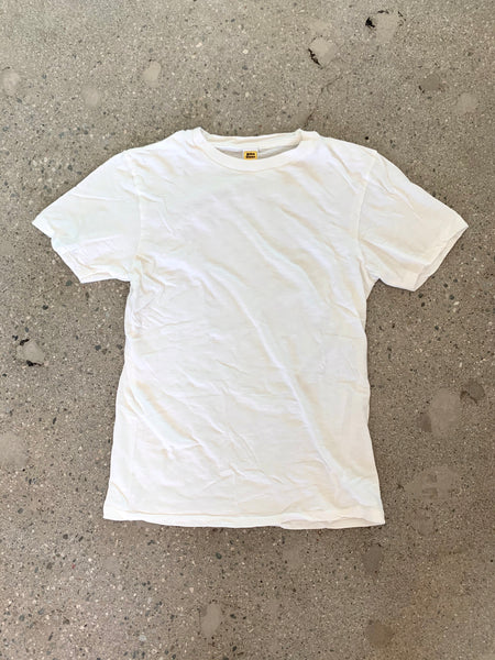 Velva Sheen White Rolled T Shirt
