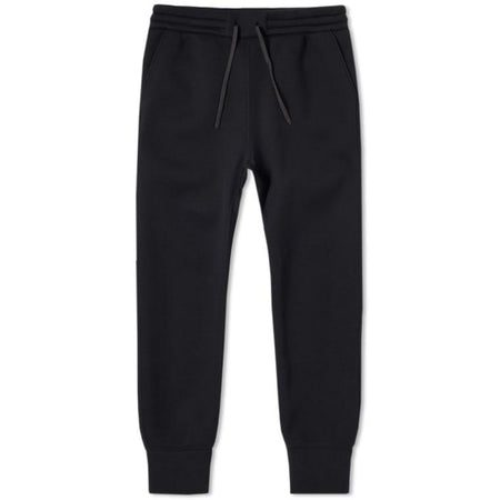 Hiro Clark Black French Terry Cotton Jogger Sweatpant
