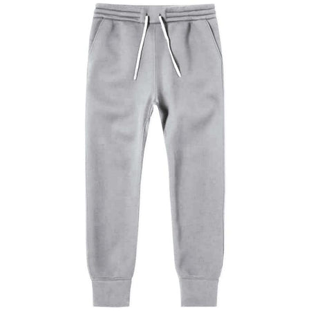 Hiro Clark Grey French Terry Cotton Jogger Sweatpant