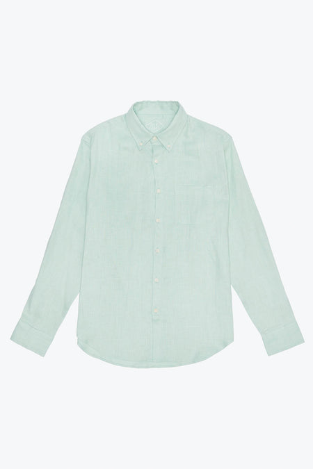 Alex Crane Mint Green Playa Shirt