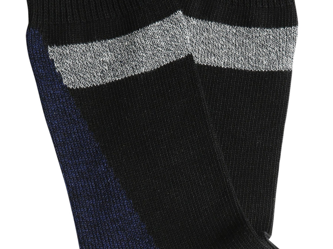 Necessary Anywhere Black and Navy Five Socks