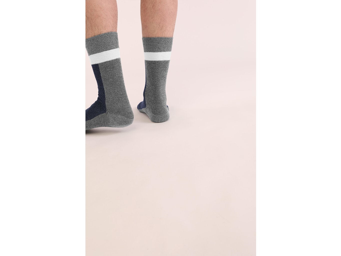 Necessary Anywhere Navy Three Socks