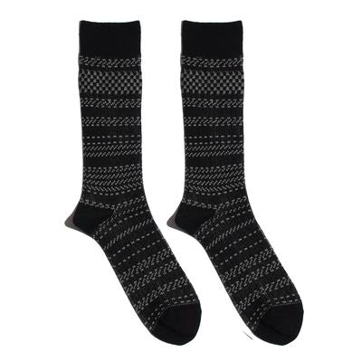 Necessary Anywhere Black Four Socks