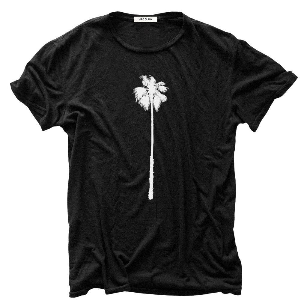 Hiro Clark Black Skyscraper Palm Tree Tee