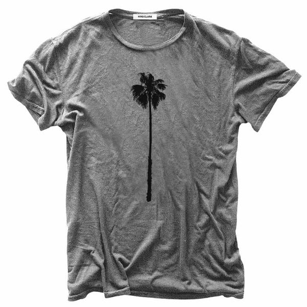 Hiro Clark Grey Skyscraper Palm Tree Tee
