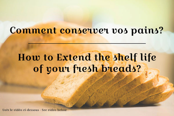 Extending the shelf life of your bread