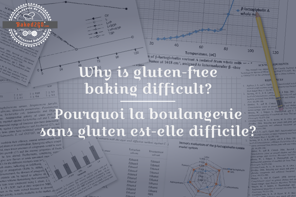 Why is gluten-free baking difficult?