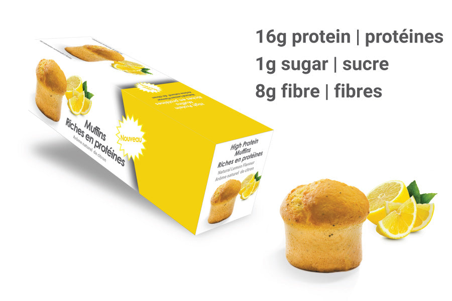 High-Protein Lemon Muffin (Box of 5)