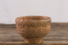 Traditional Korean Irabo Style Tea Cup: Wood Kiln Fired:Tallset2a