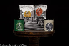 Live Like Water Tea Gift Box: Green Oolong tea, Jasmine Green Tea, Classic Oolong tea and Black Tea
