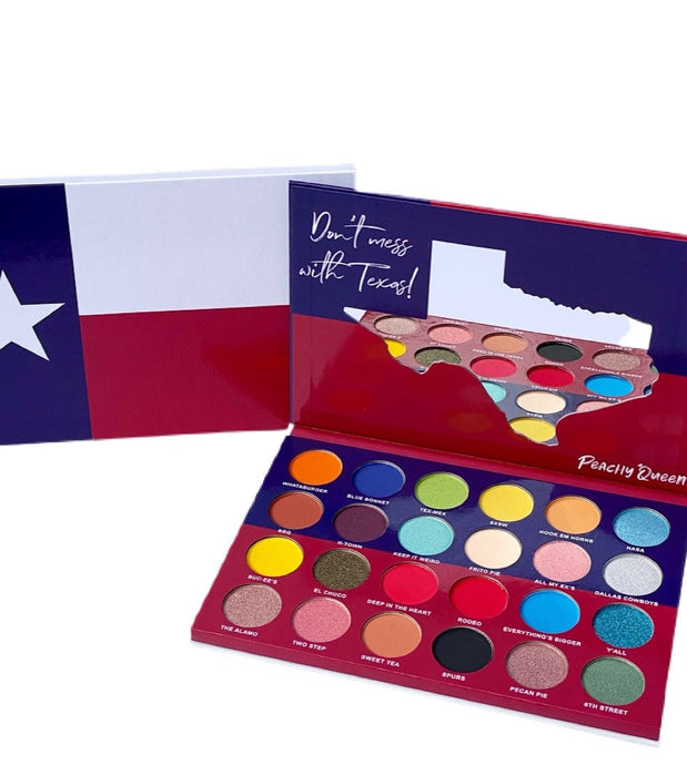 Texas Eyeshadow Palette Update