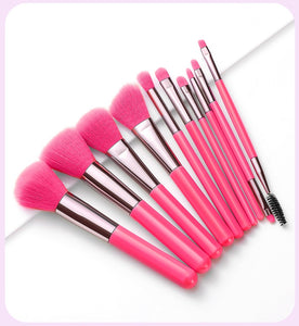 Neon Experience Brush Set Pink