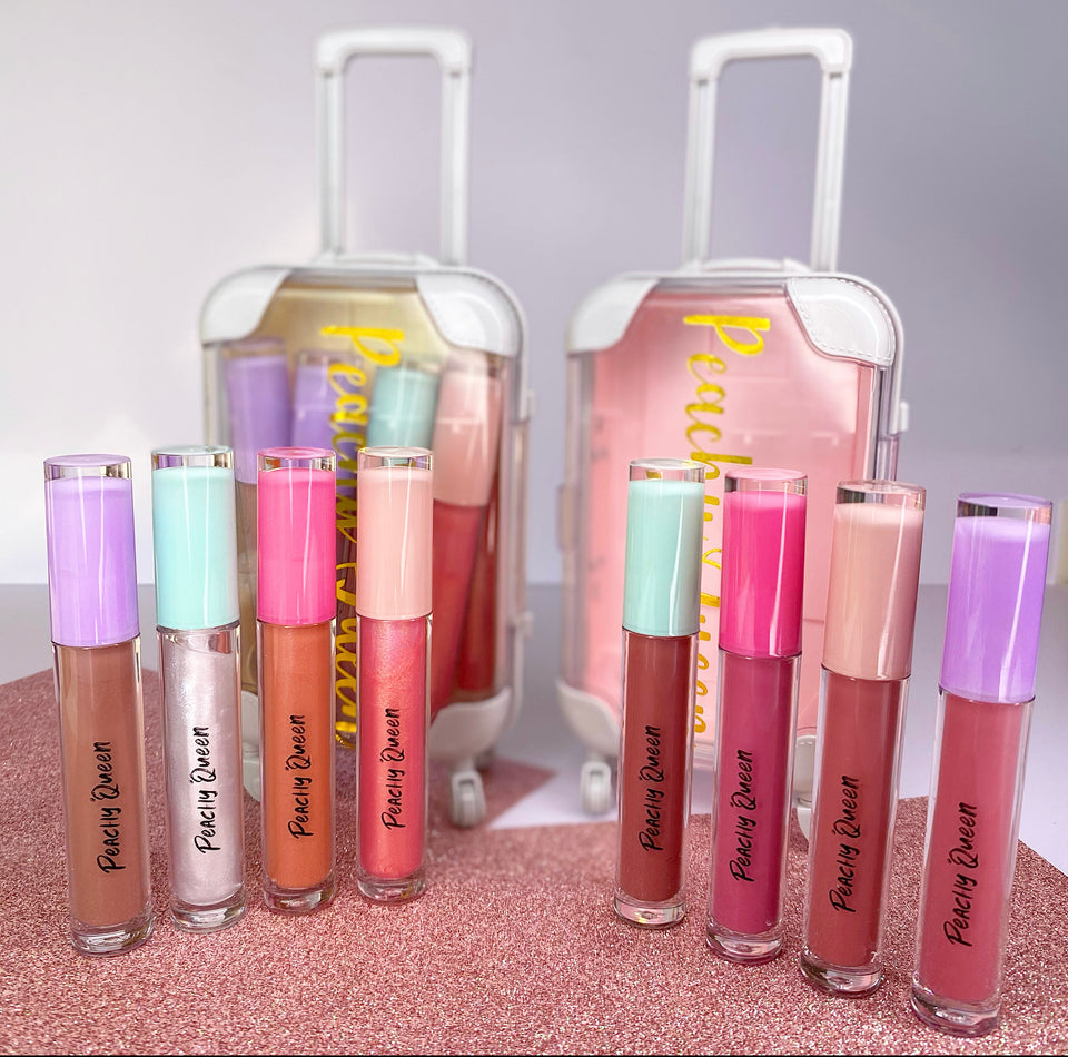 Entire Lippie Kit with Mini Suitcase