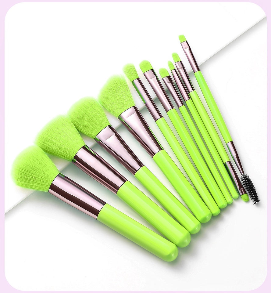 Neon Experience Brush Set Green