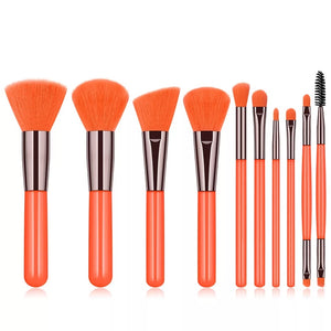 Neon Experience Brush Set Orange
