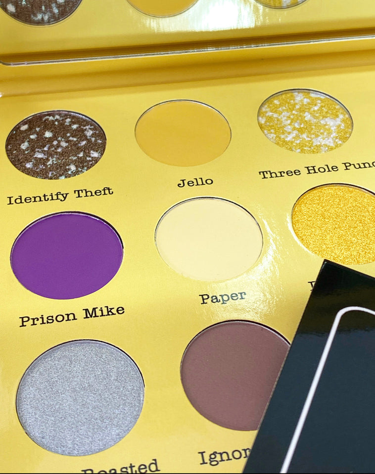 The Office Eyeshadow Palette