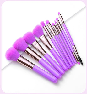 Neon Experience Brush Set Purple