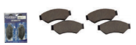 HYDRAULIC BRAKE PAD SET (4) STD
