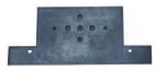 UNIVERSAL RUBBER NUMBER PLATE BRACKET