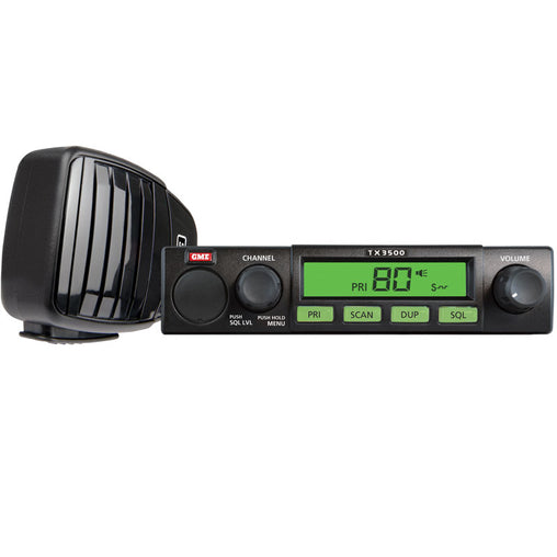 5 Watt, 80 Channel Compact UHF Radio w/ScanSuite - Trek Hardware