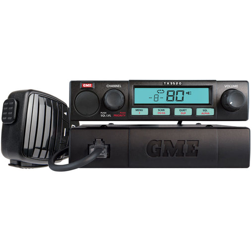 5 Watt, Compact fully featured remote mount UHF CB radio with ScanSuite - Trek Hardware