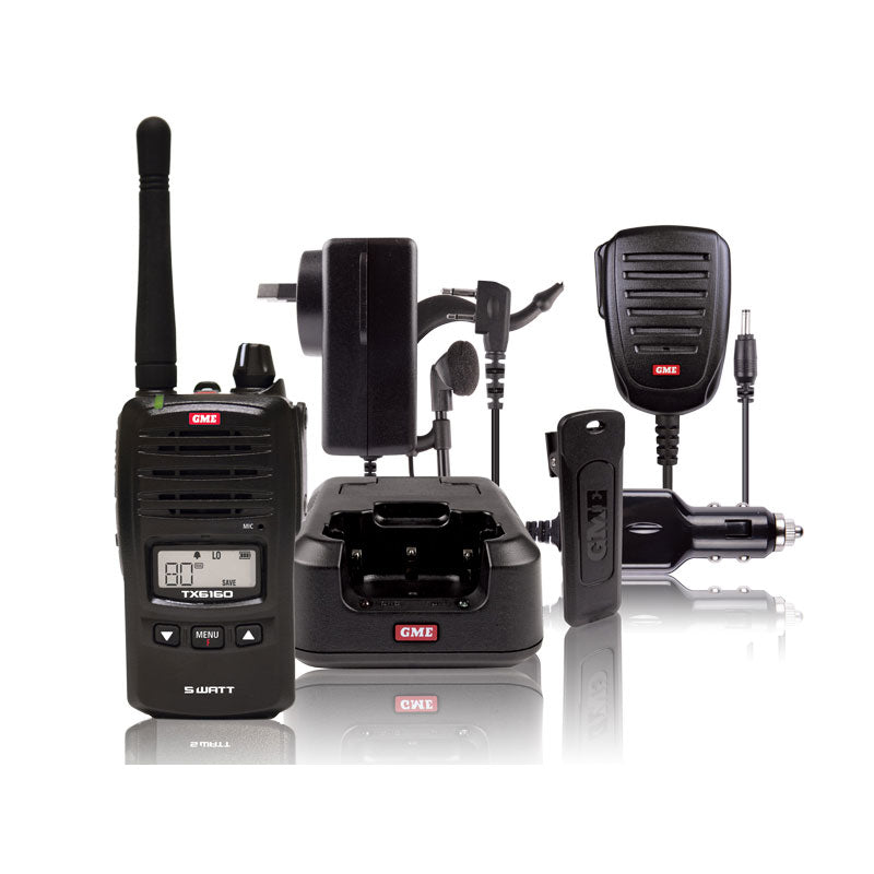5 Watt UHF CB Handheld inc. Accessories - Trek Hardware