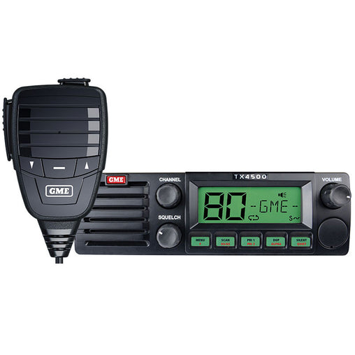 6 Watt, 80 Channel Fully Featured DIN Mount UHF Radio w/ScanSuite - Trek Hardware
