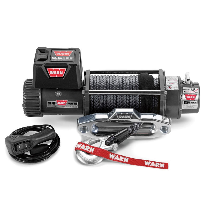 9.5XPS 12V Self Recovery Winch 24m Synth. Rope w/ Wireless Remote - Trek Hardware