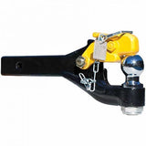 Combination Pintle Hook Receiver Arm 3.5T Towing Capacity When Used With A 50mm Trailer Coupling.
