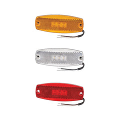 9–33 VOLT MODEL 17 L.E.D SIDE MARKER OR EXTERNAL CABIN MARKER LAMP