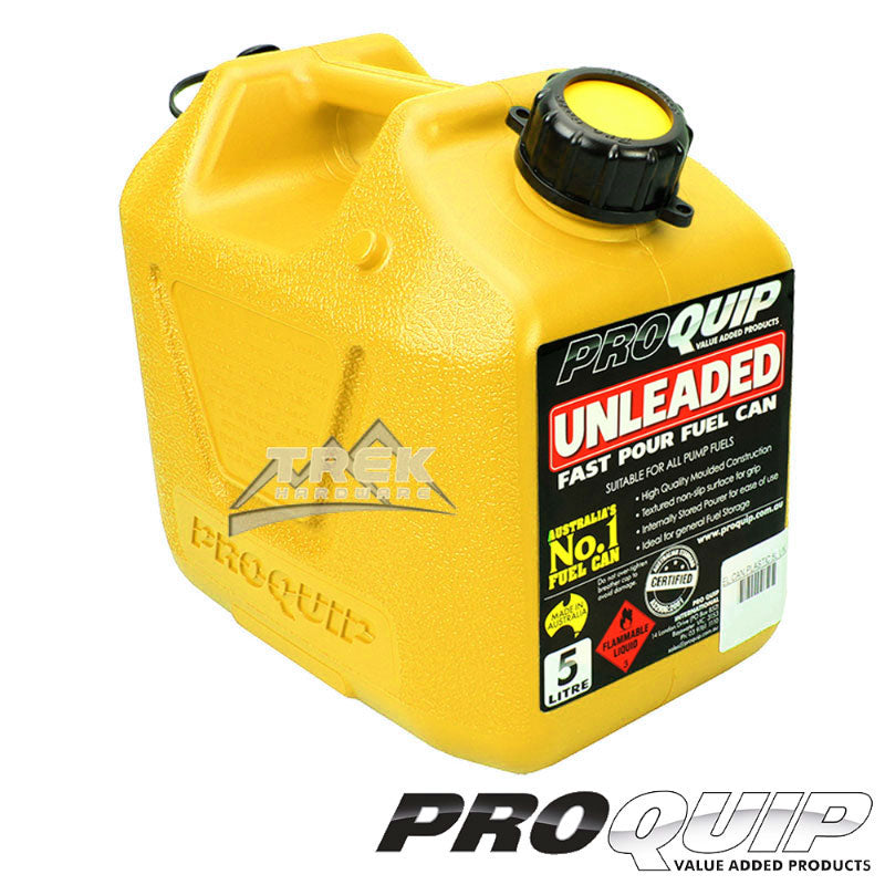 Fast Flow 5L Plastic Fuel Can Yellow (Diesel)