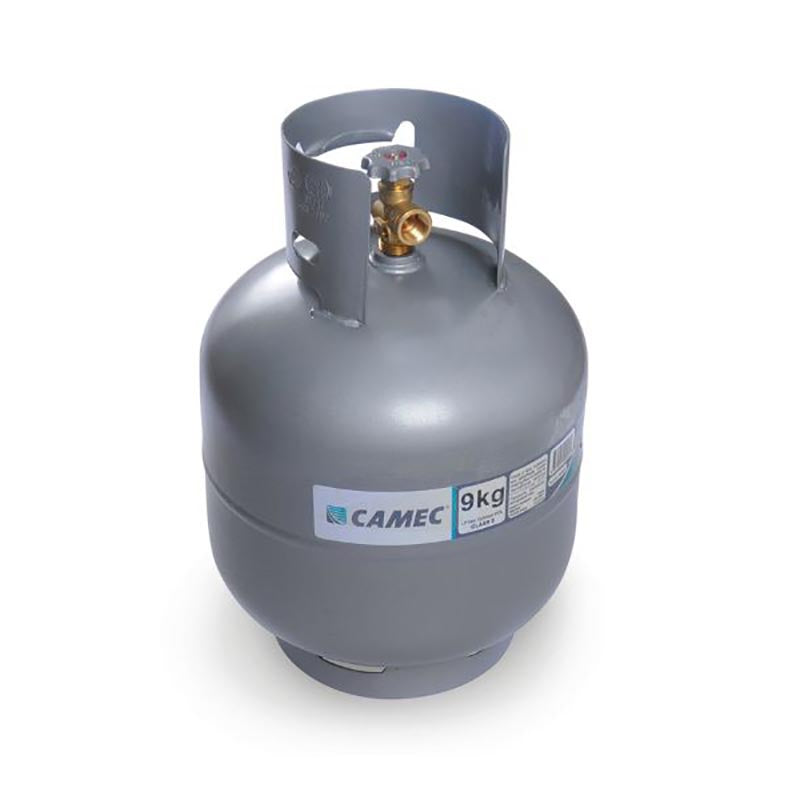 Gas Cyl 9kg Pol No Gauge Camec