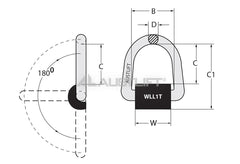 Lifting Point Weld On Type Wp
