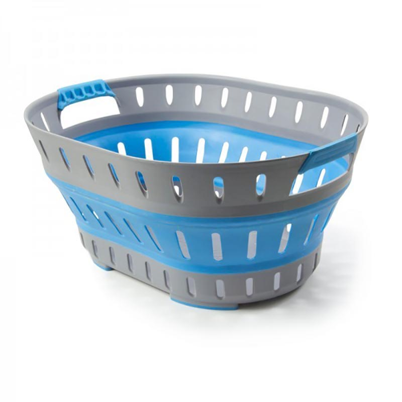 Pop Up Laundry Basket Blue