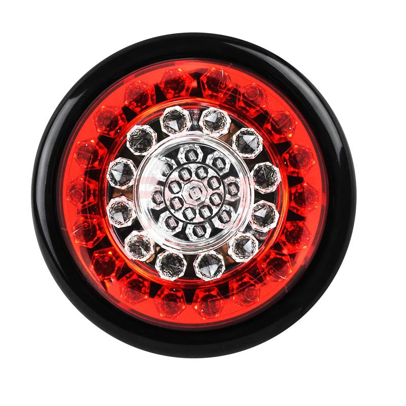 Round Single Tail Light