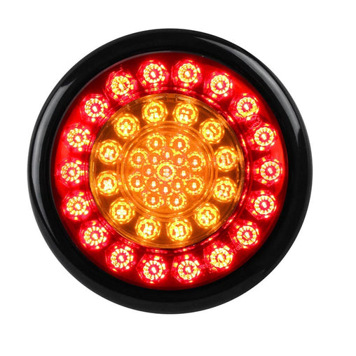 Round Single Tail Light Stop Tail Indicator