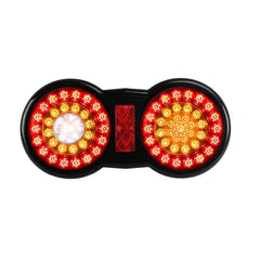 Tail Light Round Double