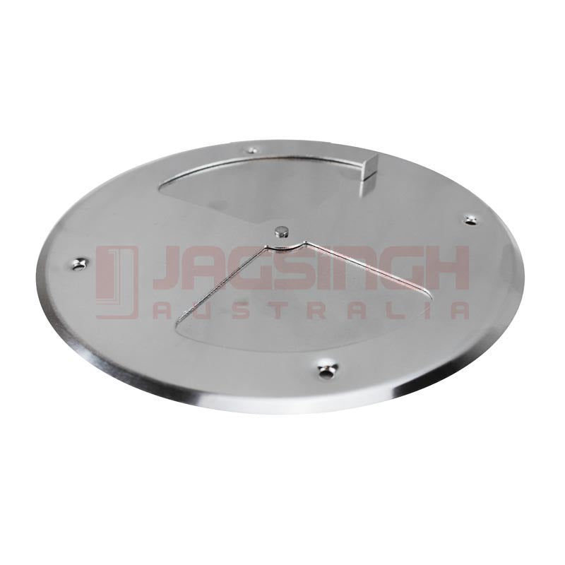 Vent Aluminum Round Butterfly Style