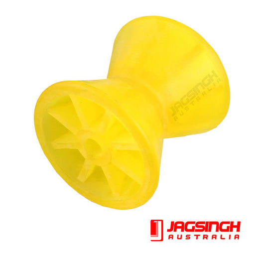 Yellow Poly Bow Roller